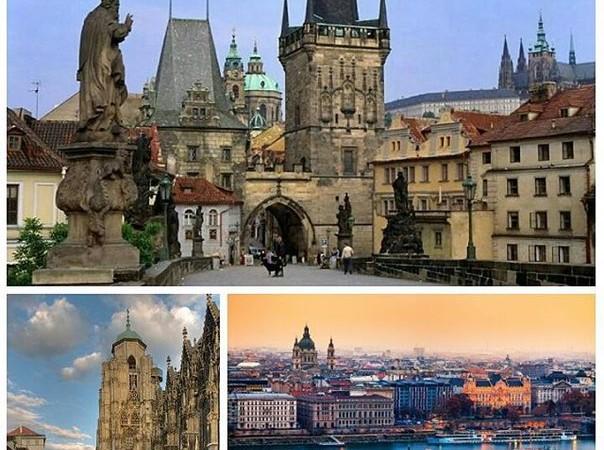 Экскурсионный тур «Прага+Вена», выезд из Покровска